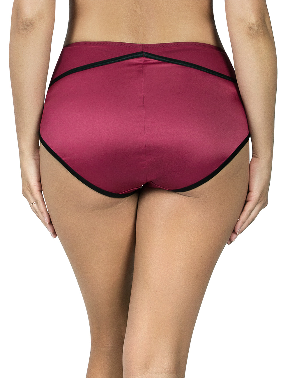 PARFAIT Charlotte HighwaistBrief6917 RioRed Back - Charlotte Highwaist Brief Rio Red 6917