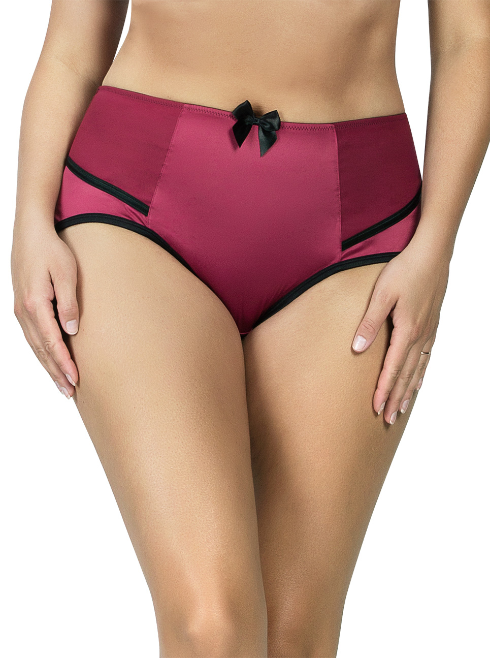 PARFAIT Charlotte HighwaistBrief6917 RioRed Front - Charlotte Highwaist Brief Rio Red 6917