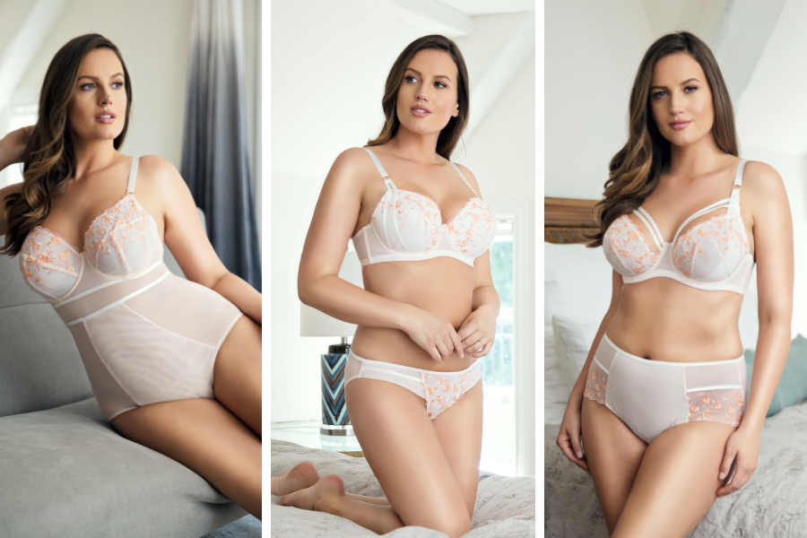 embroidered lingerie