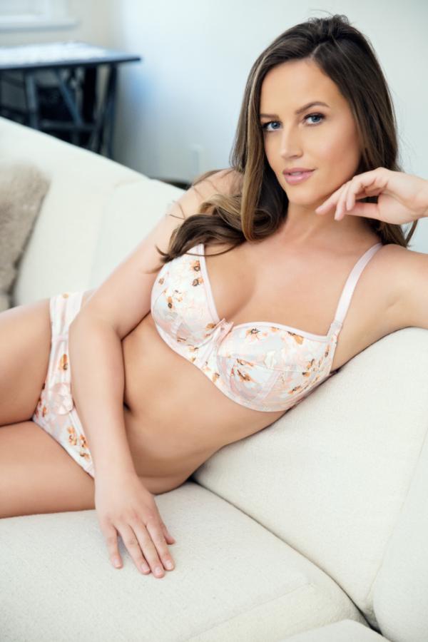 floral print bra