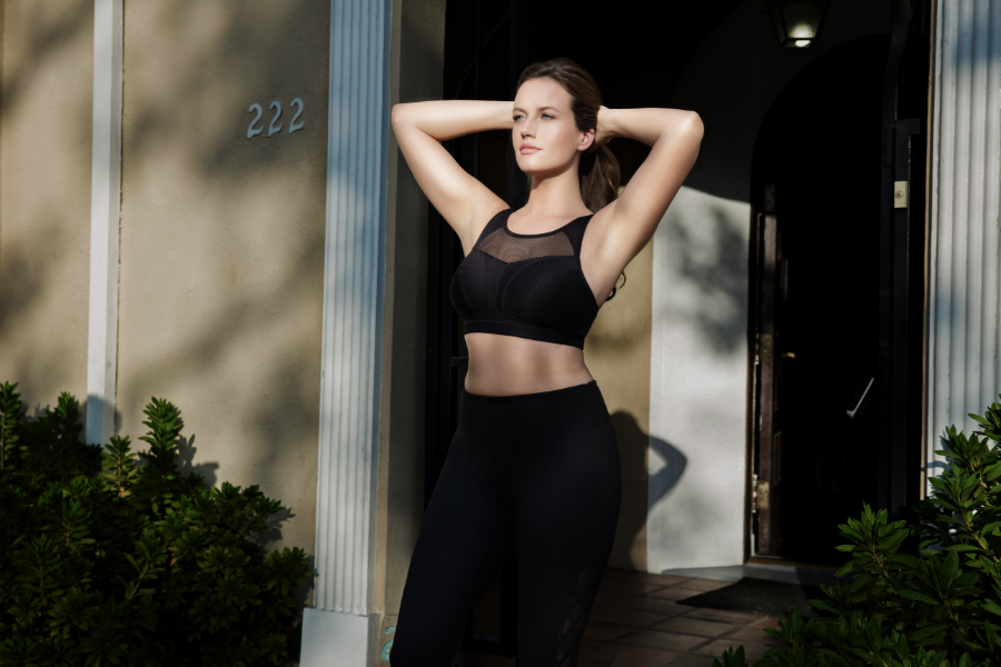 wireless sports bra low impact