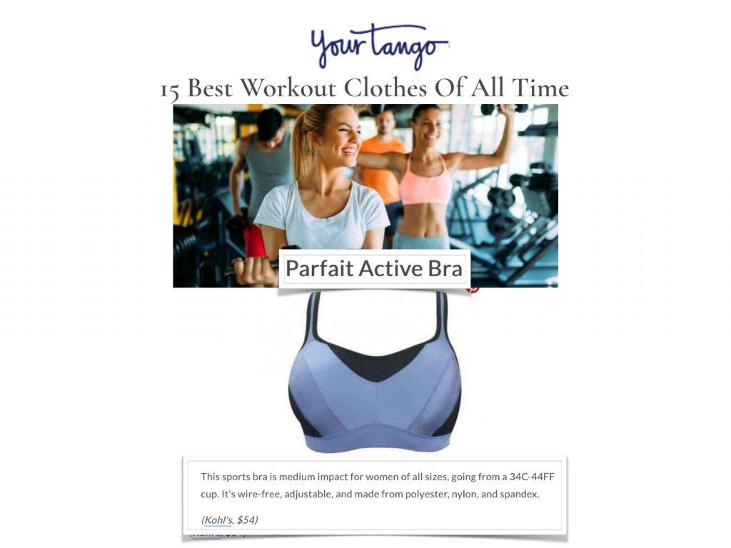 Your Tango Parfait Active Sports Bra Infinity Blue