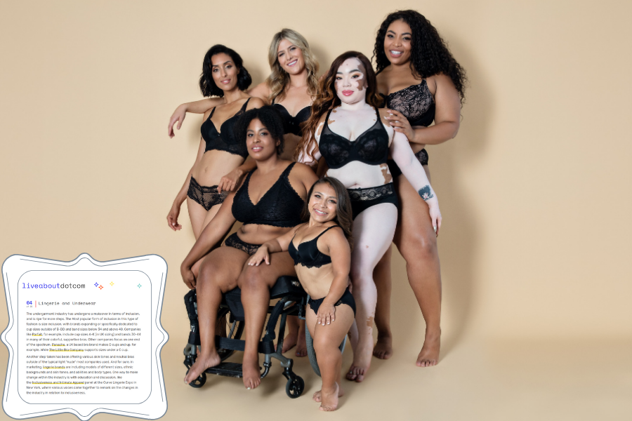 inclusive lingerie