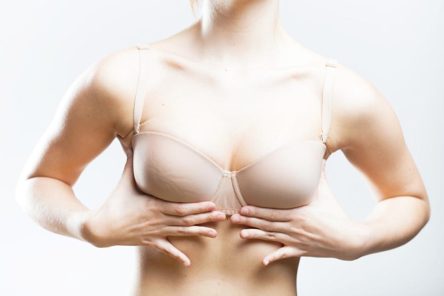 lumpy bra