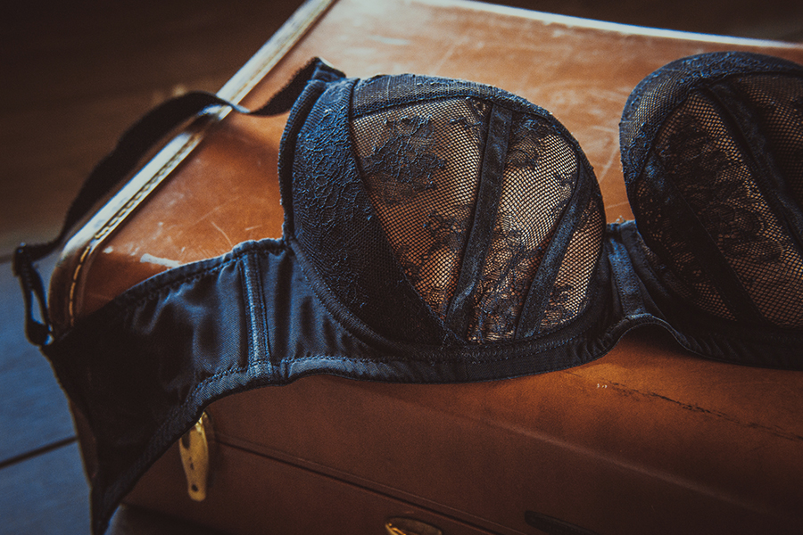how to pack padded bras for travel