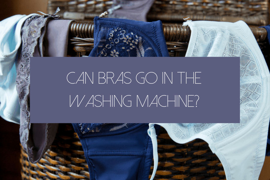 can bras go in the washing machine