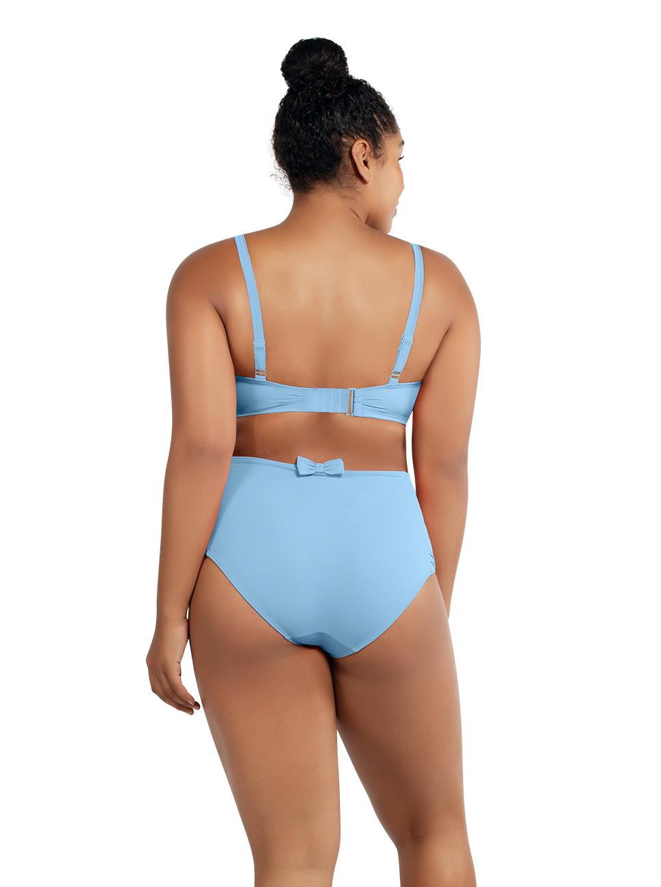 PARFAIT Vivien BalconetteBikiniTopS8162 HighwaistedBottomS8165 DreamBlue Black - Vivien Balconette Bikini Top Dream Blue S8162