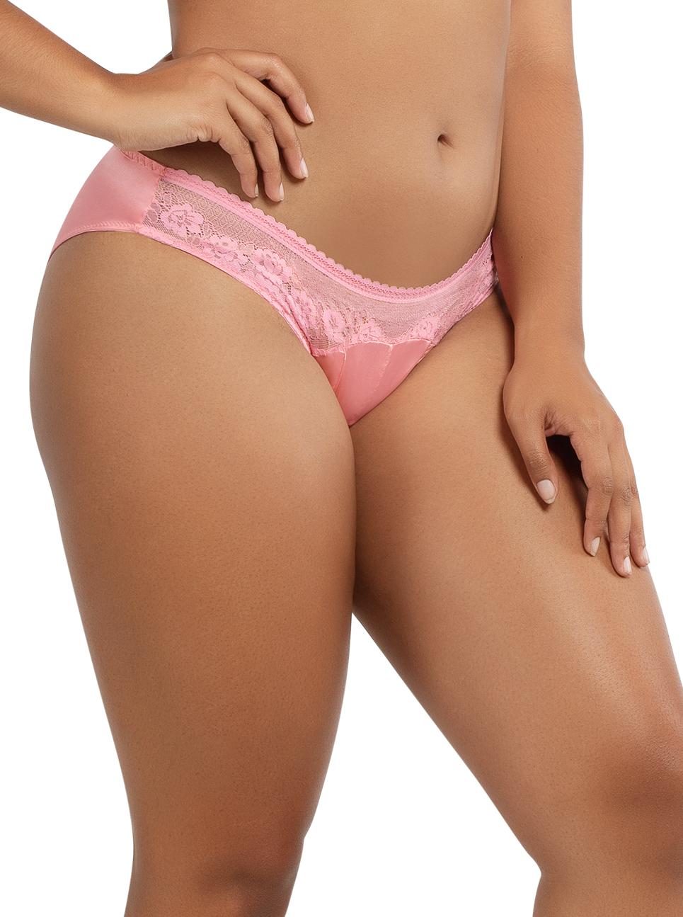 PARFAIT Jade BikiniA1653 FlamingoPink Side - Jade Bikini Flamingo Pink P1653