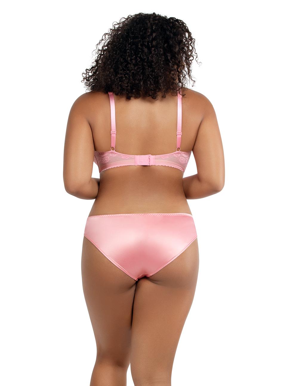 PARFAIT Jade PaddedBraletteA1651 BikiniA1653 FlamingoPink Back - Jade Padded Bralette Flamingo Pink A1651