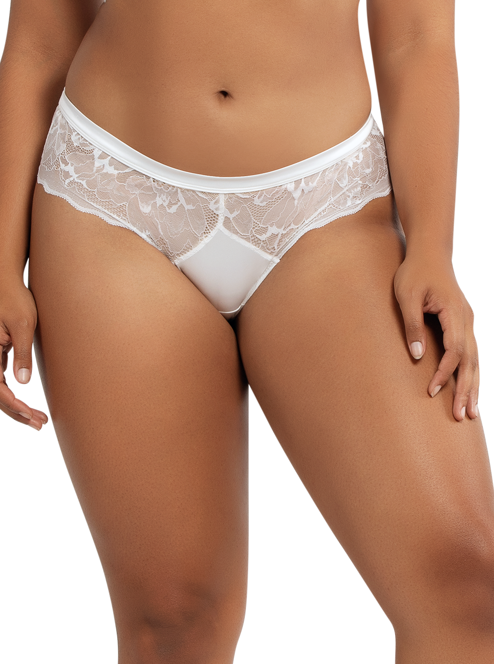 PARFAIT Vanessa HipsterP5793 PearlWhite Front - Vanessa Hipster Pearl White P5793