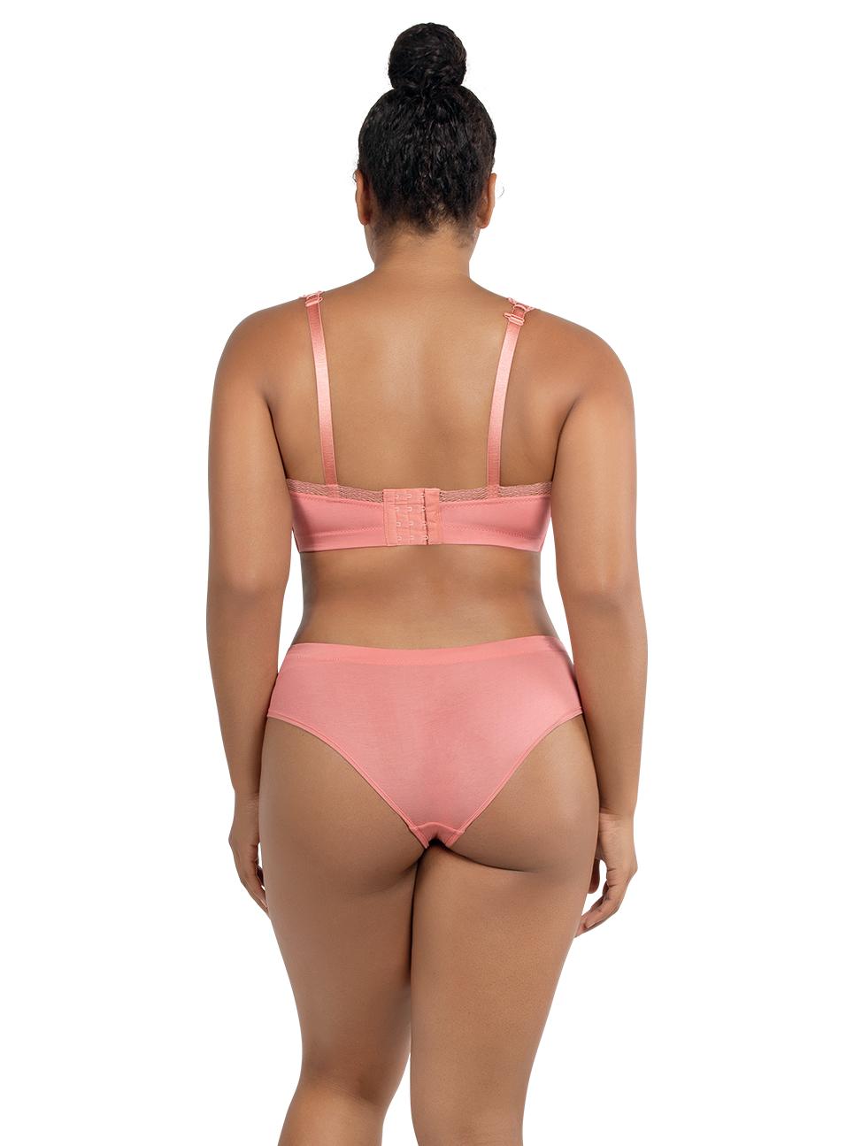 PARFAIT Dalis BraletteP5641 HipsterP5645 PinkBlush Back - Dalis Bralette - Pink Blush - P5641