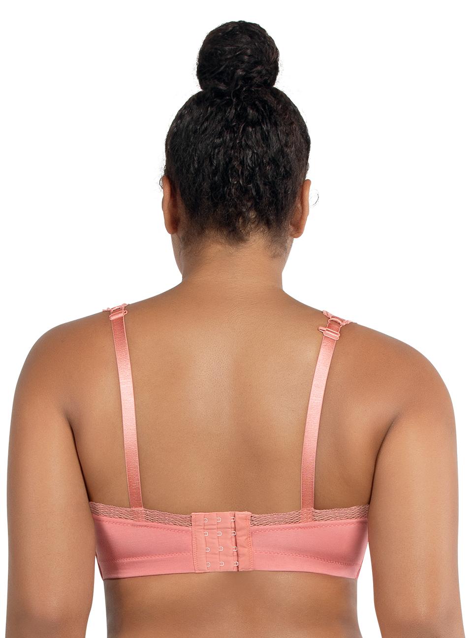 PARFAIT Dalis BraletteP5641 PinkBlush Back - Dalis Bralette Pink Blush P5641