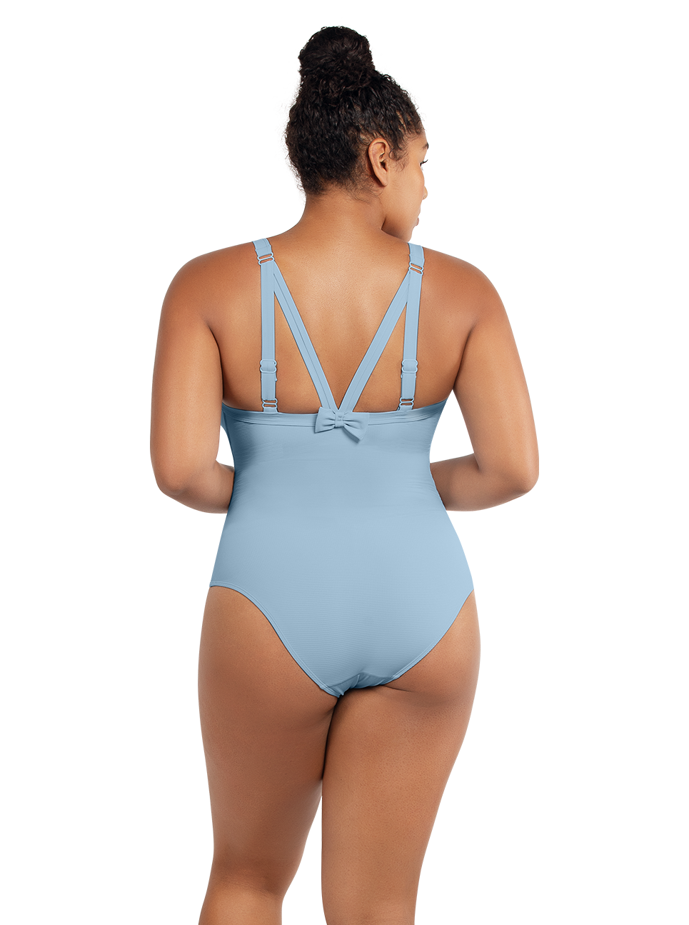 PARFAIT Vivien OnePieceSwimwearS8167 DreamBlue Back - Vivien One Piece Swimsuit Dream Blue S8167