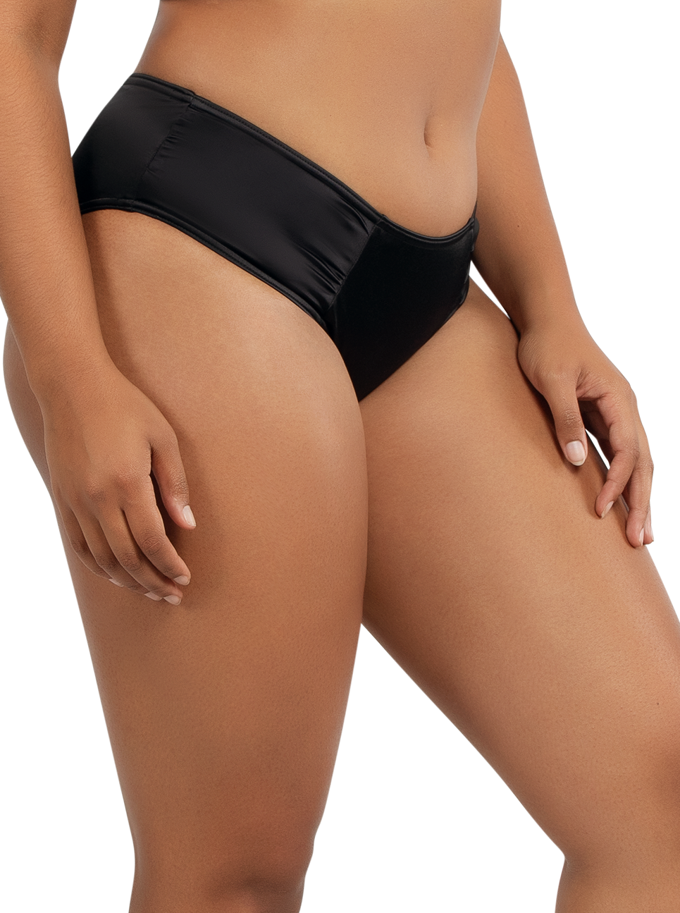 PARFAIT Rita BikiniBottomS8143 Black Side - Rita Bikini Bottom Black S8143
