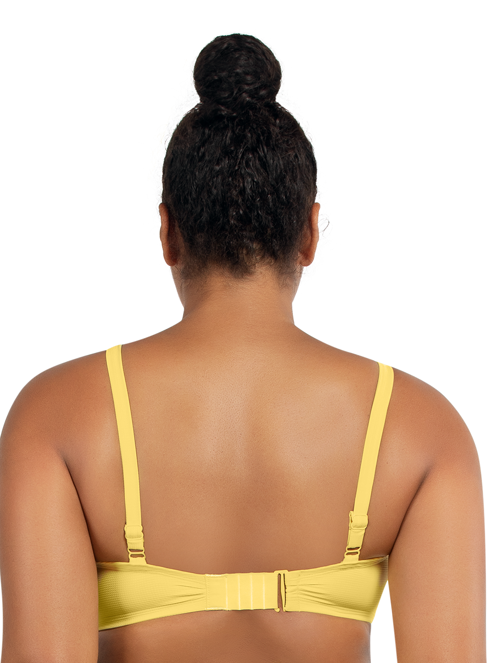 PARFAIT Vivien BalconetteBikiniTopS8162 LemonDrop Back - Vivien Balconette Bikini Top Lemon Drop S8162
