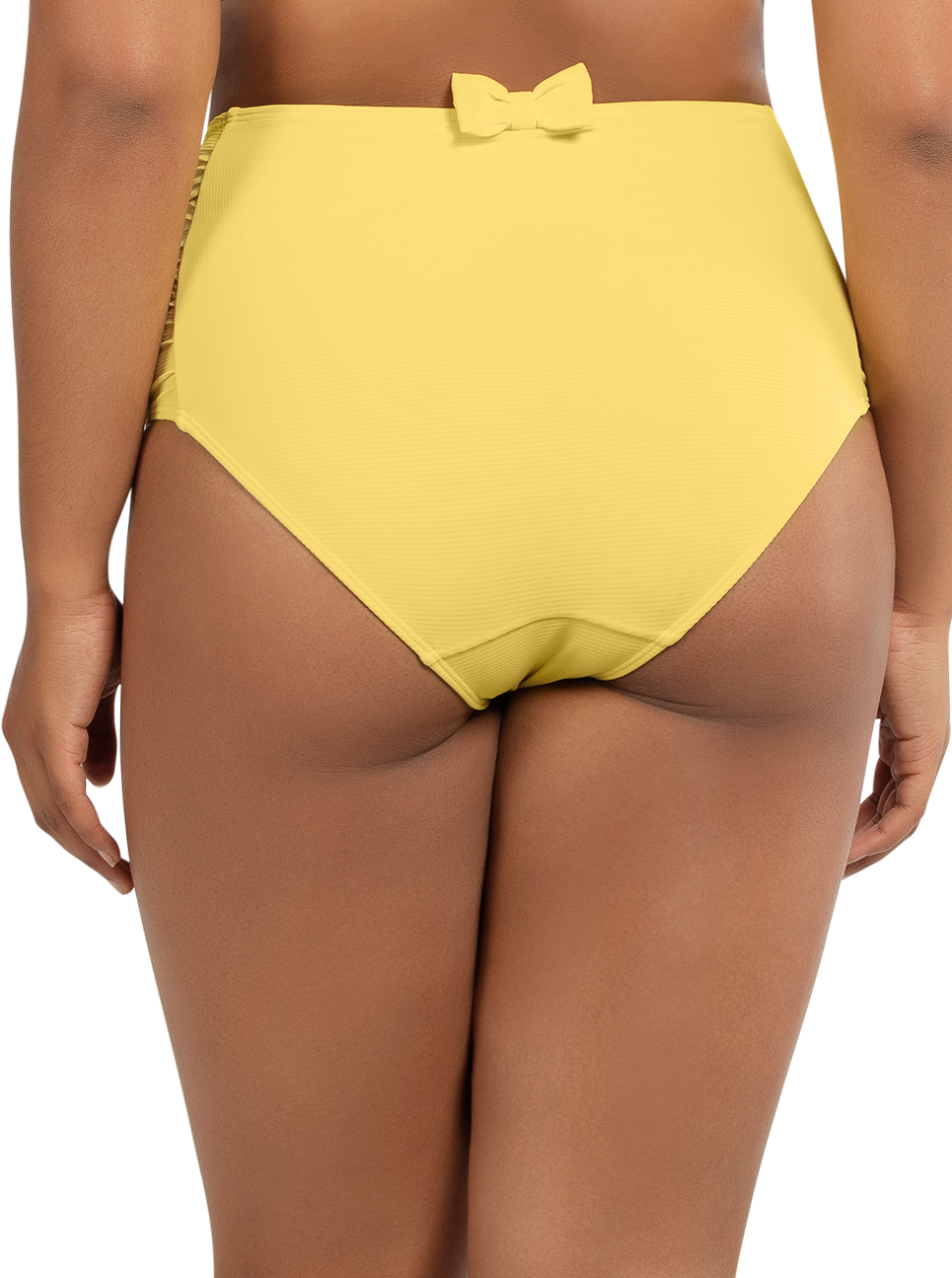 PARFAIT Vivien HighwaistedBottomS8165 LemonDrop Back - Vivien Highwaisted Bottom Lemon Drop S8165