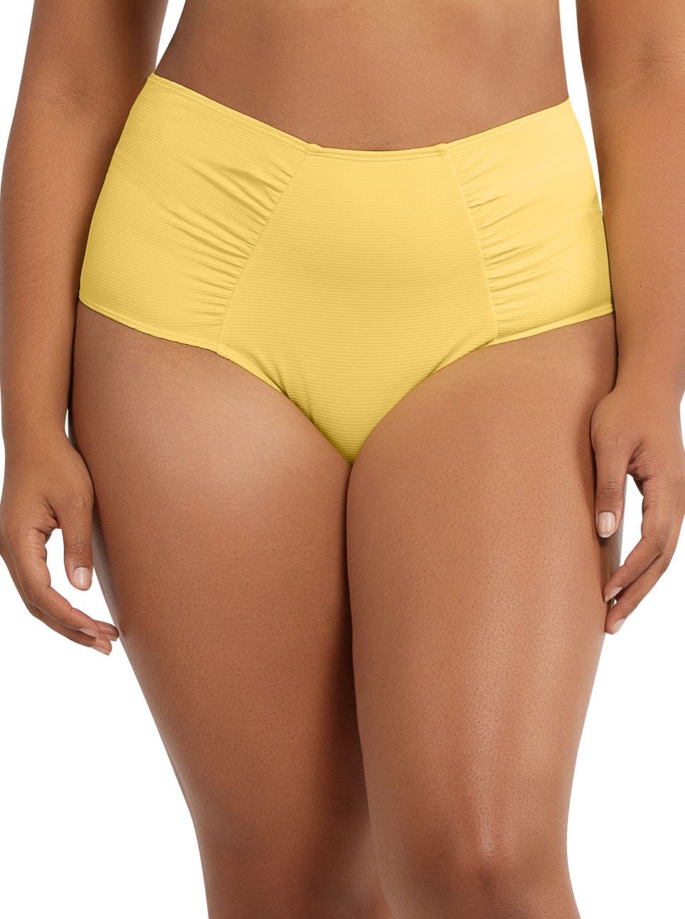 PARFAIT Vivien HighwaistedBottomS8165 LemonDrop Front - Vivien Highwaisted Bottom Lemon Drop S8165