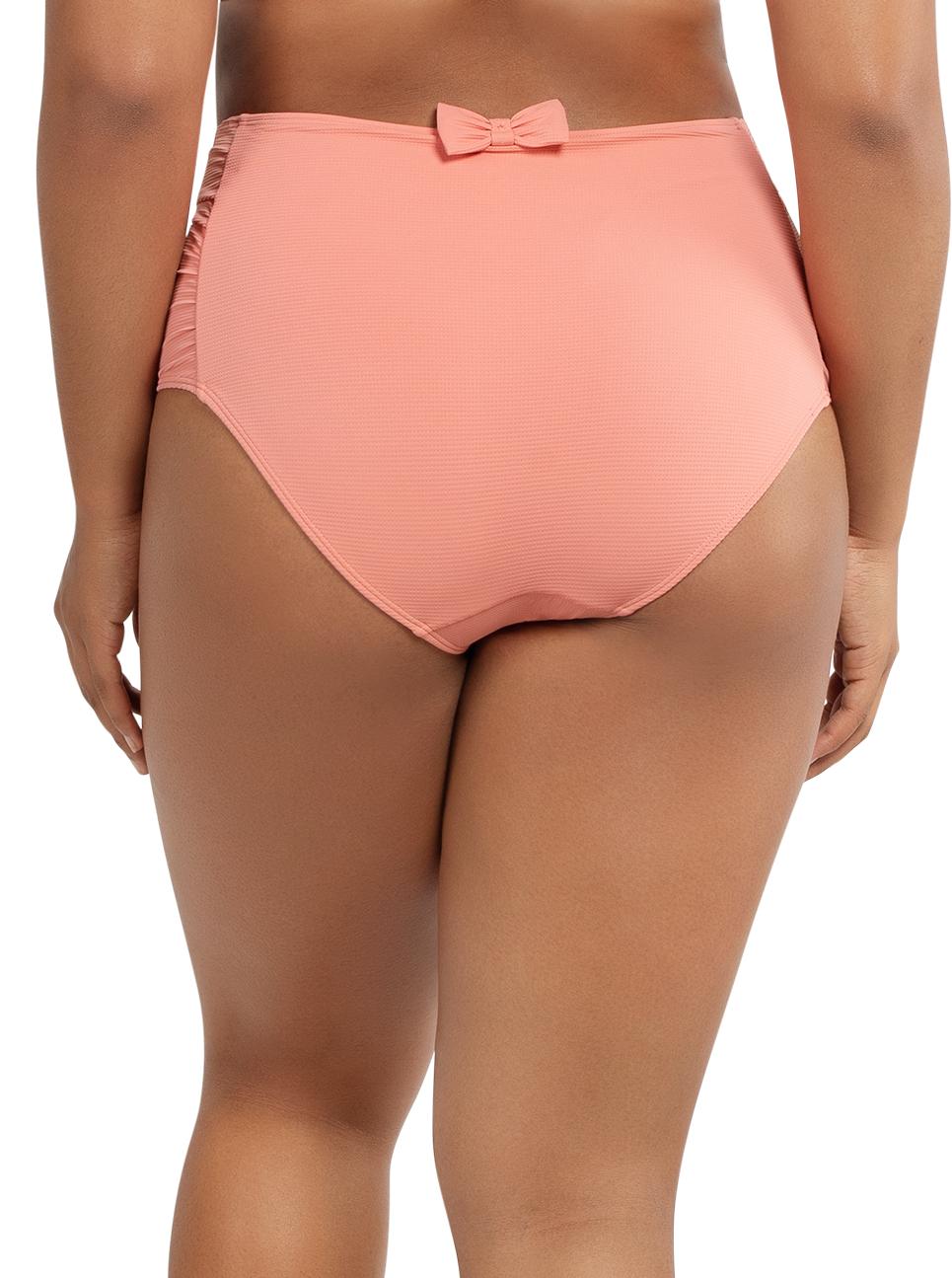 PARFAIT Vivien HighwaistedBottomS8165 PinkBlush Back - Vivien Highwaisted Bottom Pink Blush S8165