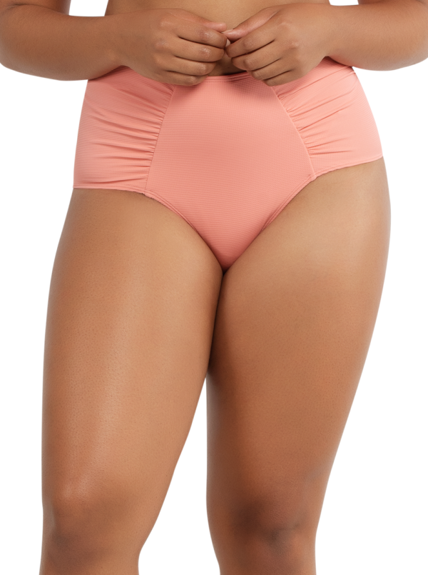 PARFAIT Vivien HighwaistedBottomS8165 PinkBlush Front 600x805 - Vivien Highwaisted Bottom Pink Blush S8165
