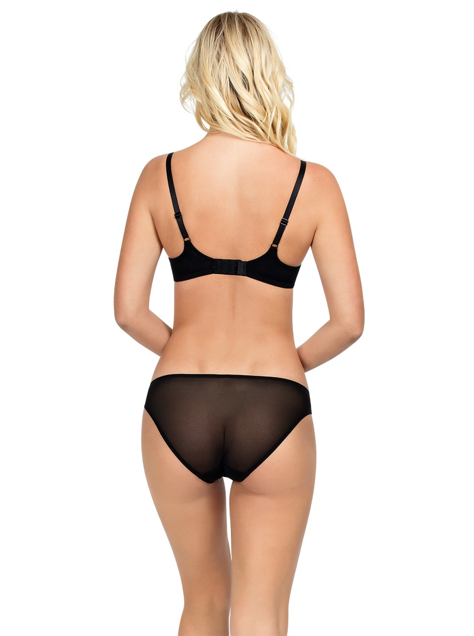 Amour Unlined Wire Bra - Black - A1472