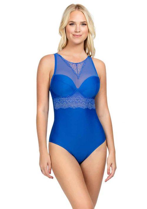 Allure Bodysuit - Dazzling Blue - A1497